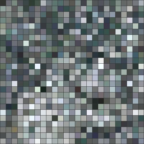 Grey stone mosaic