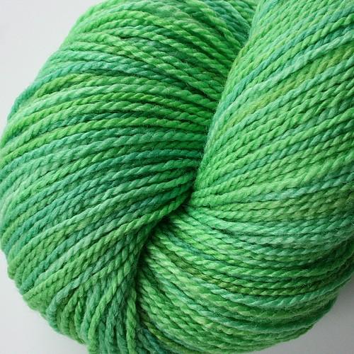 Superwash Merino Silk New Spruce2