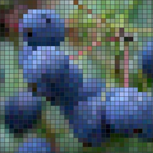 Hollyberry mosaic