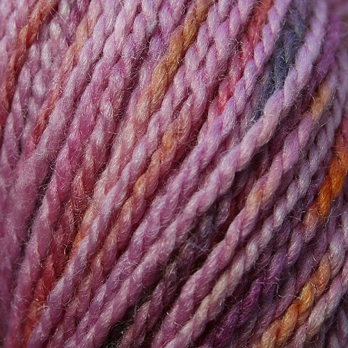 Superwash Merino Silk Coneflower tweed cu