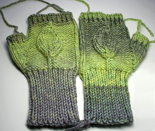 Leafy mitts