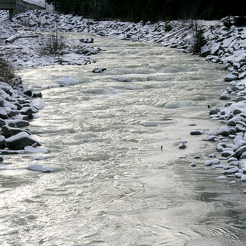 Icy river1