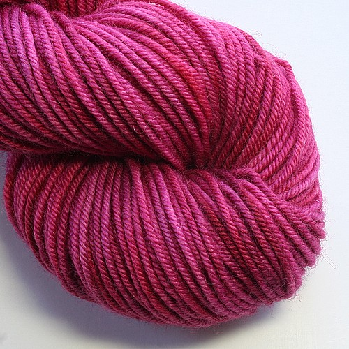Bluefaced bliss worsted blooming heather main