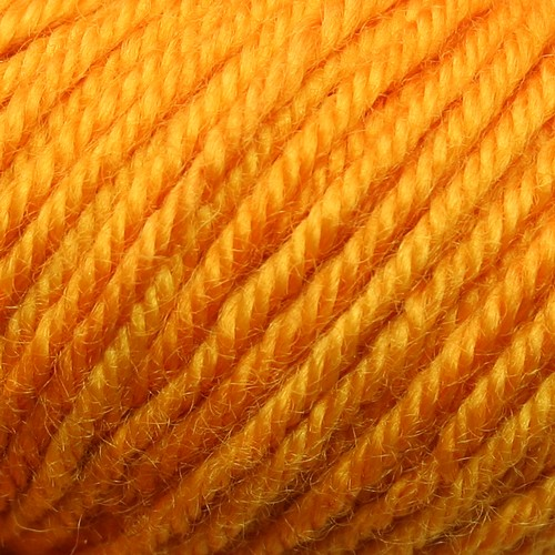 Bluefaced bliss worsted saffron cu