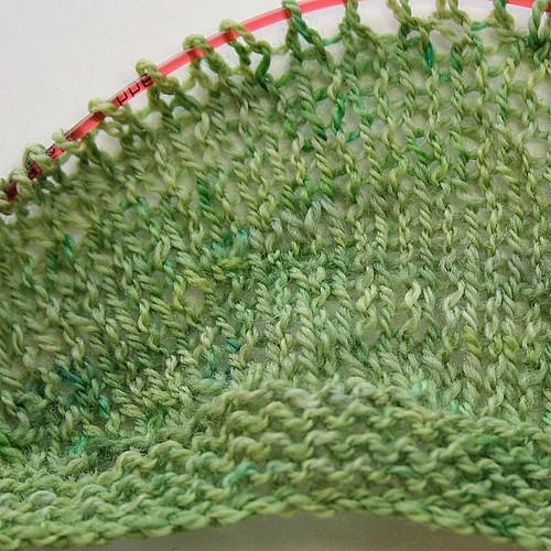 Sundappled knitted