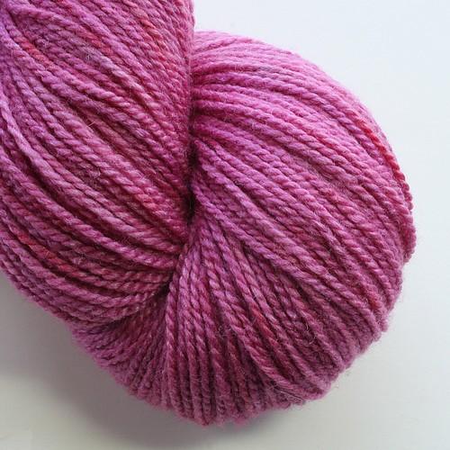 Superwash merino silk blooming heather main