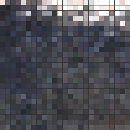 Winnie fur mosaic