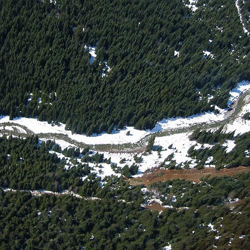 1400 feet over fitzsimmons creek