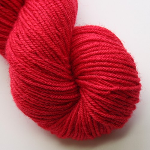 Bluefaced bliss worsted red tulip main