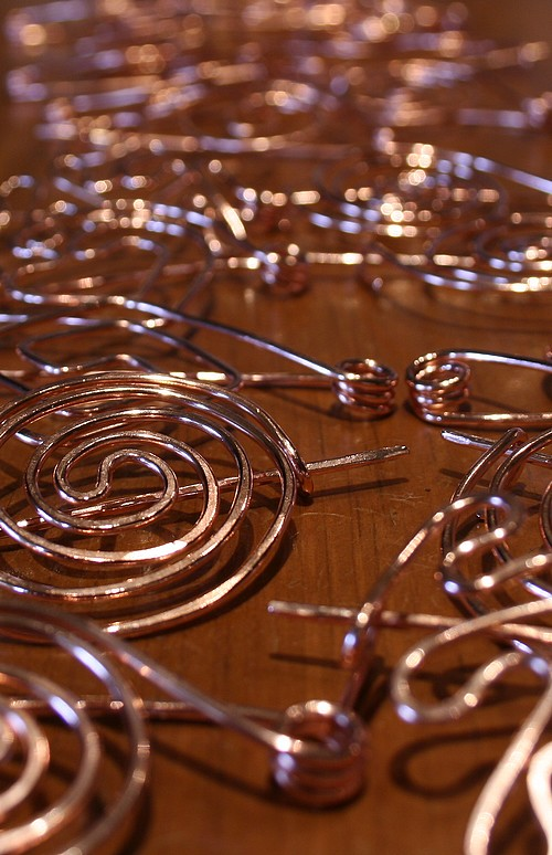 The first thirty shawl pins
