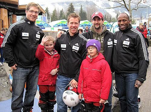 Canadian bobsleigh forerunners