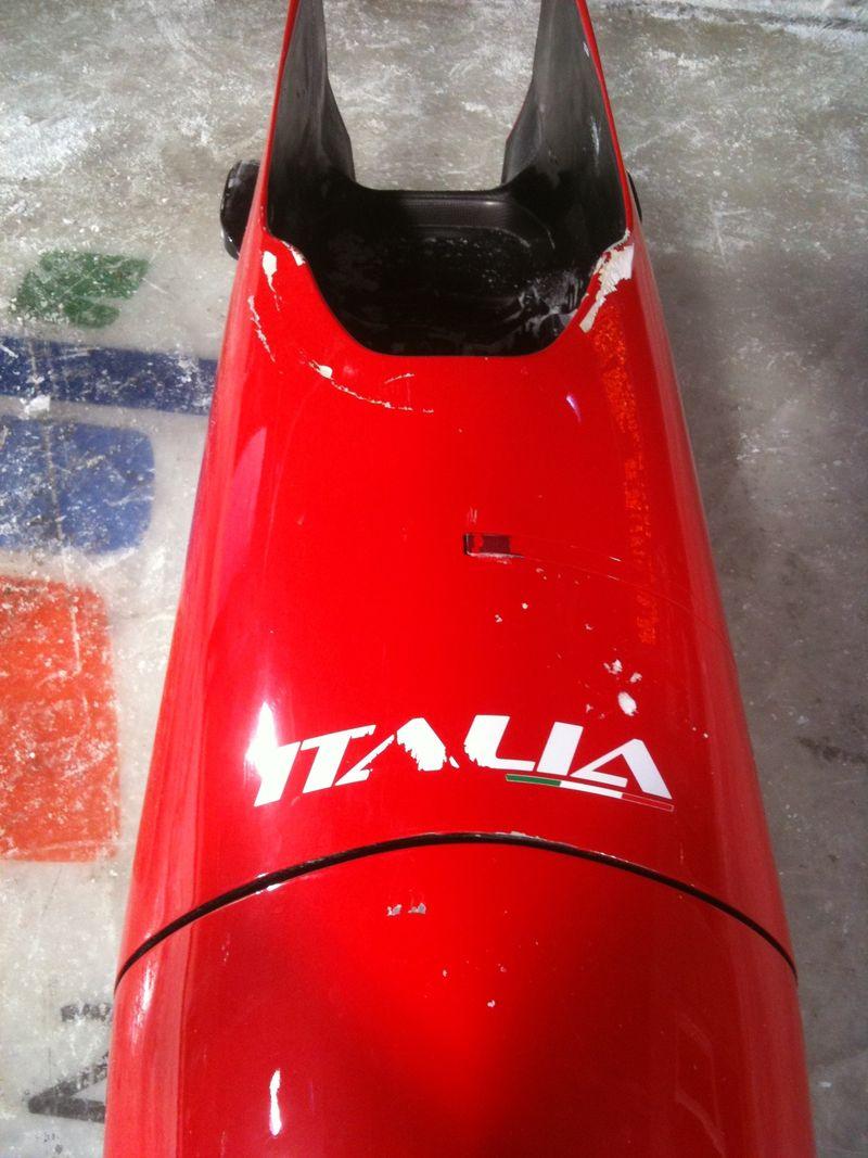 Ferrari sled