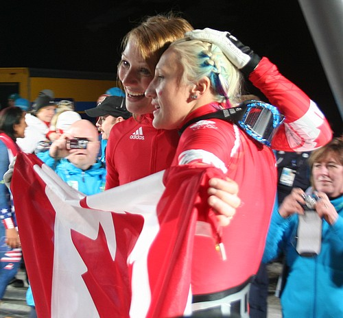 Canada1 celebrates