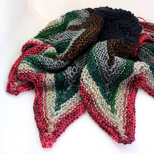 Sampler shawl 1
