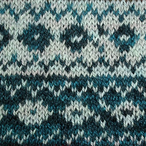Halfsies bluefaced bliss coppergreen pale rock swatch