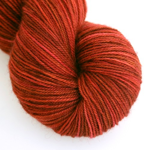 Fading heather blissful sock
