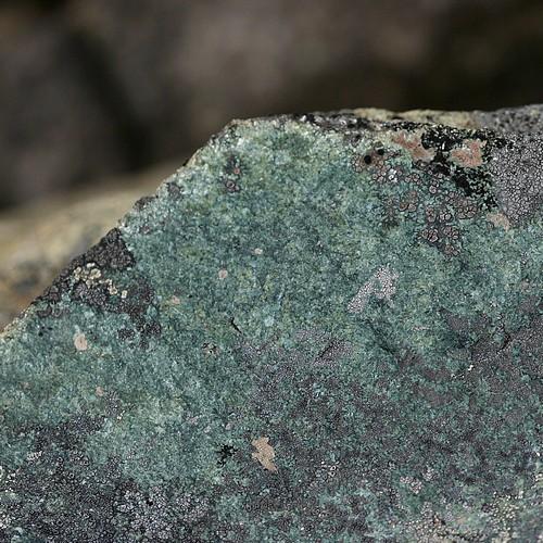 Bluegreen rock