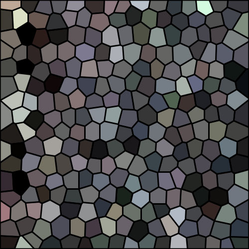 Winterbark purples mosaic