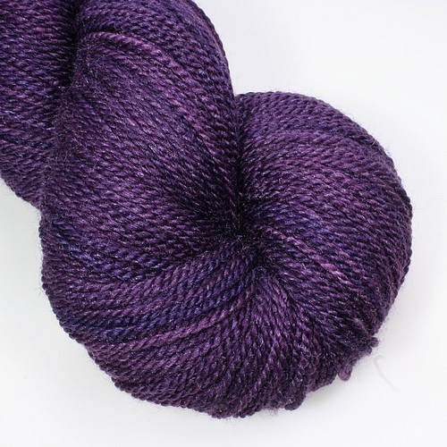 Merino silk dark amethyst main
