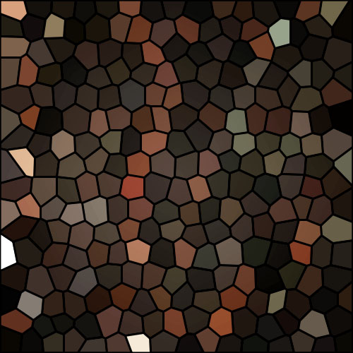 Winterbark browns mosaic